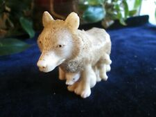 """Harmony Kingdom: """"Wolf Candle"""" W/Pups, Mint Don'T See Too Many Of These Anymore"""