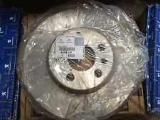 Genuine pair Peugeot 806 Expert 1 and 2 front vented brake discs 4249L4