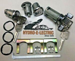 NEW 1969-1978 Pontiac Grand Prix  Ignition, Door & Trunk Lock Set with GM Keys