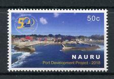 Nauru 2018 MNH Port Development Project 1v Set Architecture Nautical Stamps