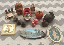 Vintage Antique Anthropologie Knick Knack Art Vase Candle Salt & Pepper LOT