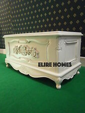 BESPOKE Designer   Rococo Toybox ~ Blanket box ~ Bed end stool from solid wood