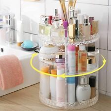 Cosmetic Storage Box 360 Degree Rotatable Perfume Cosmetic Make Up Organizer