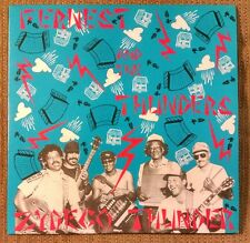 Fernest and The Thunders Zydeco Thunder LP Funk~Cajun Blues~Swamp~Private Label