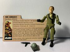 Steeler Tank Commander 100% Complete GI Joe 1982 Hasbro Action Figure.