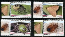 NIGER 2020  PARASITIC INSECTS  SET MINT NH