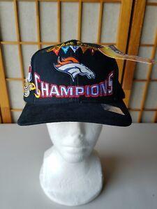 Denver Broncos SUPER BOWL XXX11 CHAMPIONS 1998  Locker Room Snapback Hat NWT