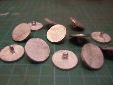 I pulsanti in lega peltro 20mm gambo piatto storico riproduzioni Confezione da 12 (2)