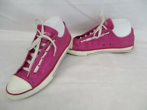 CONVERSE All Star Chuck Taylor Low Top Trainers, Pink, Size UK 5.5, Eur 38.5