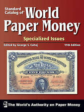 World paper money Specialized issues 11th edition