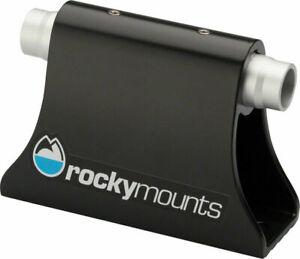 RockyMounts HotRod Thru-Axle Bike Mount: Black - Van/Truck Bed Rack