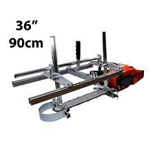 """ZKS 36"""" Mobile tragbar Sägewerk für Motorsäge Kettensäge Holz Brett Alaskan mill"""
