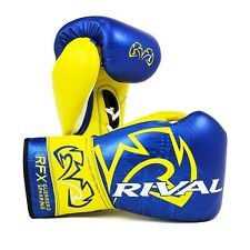 Rival RFX-Guerrero Sparring Gloves P4P Edition Blue Yellow Boxing Training