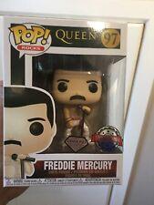 Funko Pop Rocks Queen Freddie Mercury Diamond Glitter