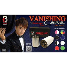 Vanishing Cane (Metal / Blue) by Handsome Criss and Taiwan Ben Magic
