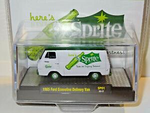 M2 MACHINES COCA-COLA SPRITE WHITE / GREEN 1965 FORD ECONOLINE DELIVERY VAN