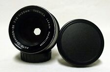 YASHINON-DX f/1.4 50mm Prime Lens SLR Film Camera DSLR Micro M42 Pentax Screw