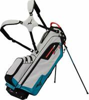 Mizuno BR-D3 Golf Stand Bag - Grey/Blue - NEW! 2019
