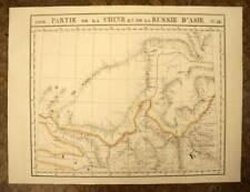 PARTIE LA CHINE ET RUSSIE Carte géographique d'Asie n°58 VANDERMAELEN 1827