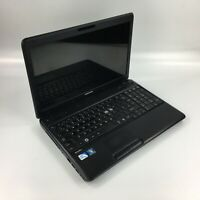 WINDOWS 7 TOSHIBA C660 LAPTOP COMPUTER PC INTEL DUAL CORE  2.10GHz 4GB - 320GB