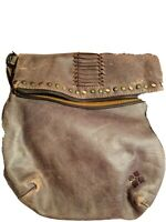 Rare! PATRICIA NASH Luzille Distresses Leather Backpack Crossbody Convertible