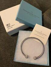 Touchstone Crystal by Swarovski Riviera Cuff Bracelet New In Box!