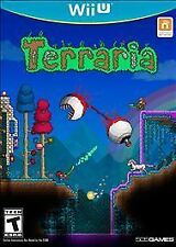 Terraria (Nintendo Wii U, 2016) Complete - Factory Sealed Brand New