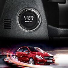 Auto Universal 12V LED Car Engine Start Push Button Ignition Starter Switch Kit
