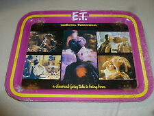 VINTAGE METAL TV TRAY ET THE EXTRA TERRESTRIAL 1982 UNIVERSAL STUDIOS