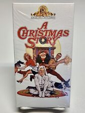 A Christmas Story 80's Family Comedy VHS 1983 Bob Clark Peter Billingsley MGM