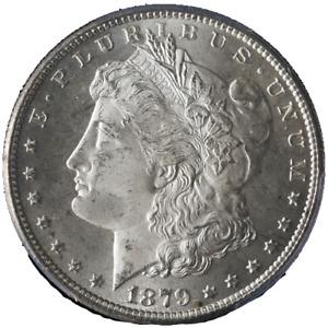 1879-S Morgan Silver Dollar PCGS MS66 Blazing White Gem Nice Strike STOCK