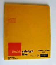 KODAK  SAFELIGHT FILTER | Red  | 10x12 in  | Colour Film Processing