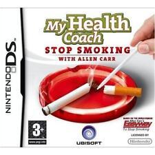 STOPTOBER NINTENDO DS/DSL/DSi/3DS MY HEALTH COACH STOP SMOKING ALLEN CARR - NEW