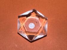 PETIT Hexagramme Sceau de Salomon en Quartz CRISTAL DE ROCHE