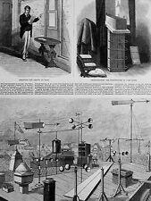 Ogden METEOROLOGICAL WORK U.S.SIGNAL SERVICE Barometer 1880 Print #2 Matted