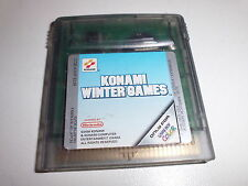 Nintendo   Game Boy Color  Konami Winter Games