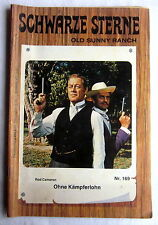 (S) - stelle nere-old Sunny Ranch 169-senza combattenti salariali-Rod Cameron