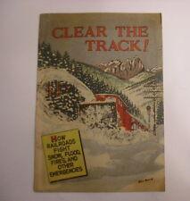 Clear the Track!, Assoc of American Railroads Giveaway, Fine-