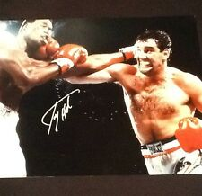 Larry Holmes & Gerry Cooney SIGNED 16x20 Photo Boxing SSG COA