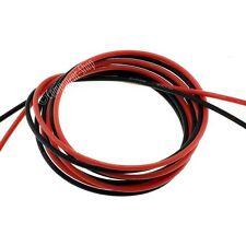 18AWG silicone fil. super flexible haute température 1m rouge et 1m noir vendeur britannique