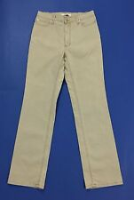 jeans diusca donna w32 tg 46 denim slim gamba dritta straight fit usato T2095