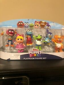 New Disney Junior Muppet Babies 8 Figure Collectible Set-Play Toy Figurines