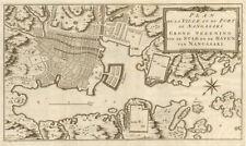 'Plan de la Ville… de Nangasaki'. Nagasaki, Japan. BELLIN/SCHLEY 1756 old map