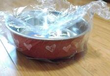 Brand New Loving Pets Bella Bowls - Hearts Valentine Red - Size Medium
