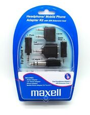 Maxell Headphone / Mobile Phone Travel Adapter Kit c/w 20FT Extension Cable