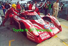 LeMans Le Mans 24H Toyota GT1, 3600T Nr.27 original Riesen Poster ca 30cm x 40cm
