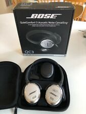 Bose QuietComfort 3 Acoustic Noise Cancelling Headphones in superb condition