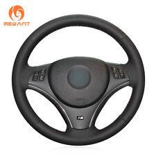 Genuine Leather Steering Wheel Cover for BMW E90 325i 330i 335i E87 120i 130i