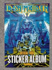More details for iron maiden somewhere back in time world tour 08 official tour sticker album