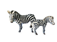 Schleich Zebra (2008) and Zebra Baby